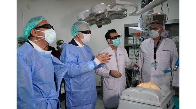 Ege Üniversitesi Hastanesine Yeni Cihaz