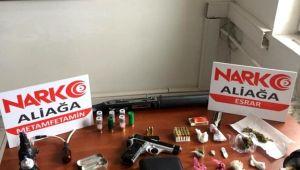 İzmir'de uyuşturucu operasyonu: 1 kişi tutuklandı