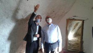 Vali Karaloğlu Eshab-ül Kehf ziyaret etti