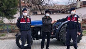 70 gün önce çalınan traktör, JASAT'ın sıkı takibiyle bulundu; 3 tutuklama