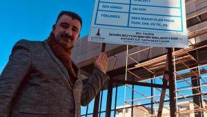 Abdül Batur'a Çınartepe Spor Salonu Eleştirisi
