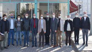 Batmanlı gazetecilere 10 Ocak ziyareti
