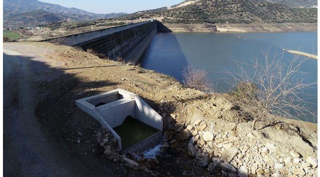 Beydağ Barajı'na iki çaydan ilave su aktarılmaya başlandı