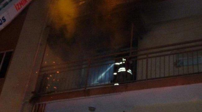 İzmir'de bir kadının öldüğü yangında dumandan etkilenen kişi, olay anını anlattı