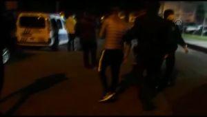 Kısıtlamayı ihlal edip polisin 'dur' ihtarına uymayan 3 kişi yakalandı