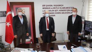 Boşnak Dernekleri'nden Başkan Deveciler'e Ziyaret