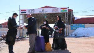 Üzümlü Sınır Kapısı'ndan Irak'a geçişler, yeniden başladı