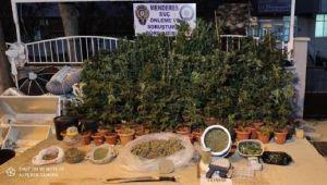 İzmir'de uyuşturucu operasyonunda tarihi eser ele geçirildi