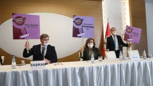 Karşıyaka Meclisi'nde 8 Mart unutulmadı!