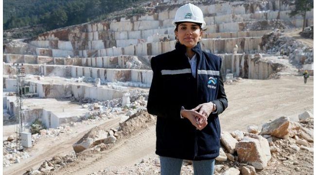 Mermer ocağının kadın patronu 'maden işi erkek işi' algısını yıkıp firmasını büyüttü