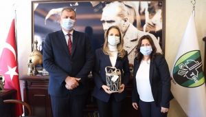 Nazlıaka'dan Başkan Duran'a ziyaret