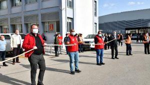 Çiğli Belediyesi çalışanları 1 Mayıs'ı erken kutladı