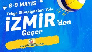 Plaj voleybolunda Tokyo yolu İzmir'den geçecek