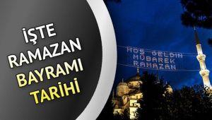 Ramazan Bayramı ne zaman, hangi tarihte? 2021 Ramazan Bayramı tarihi hangi gün?