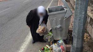 Taksiyle gelip çöpten yiyecek topluyormuş gibi davranan dilencilerin rezidansta kaldığı tespit edildi