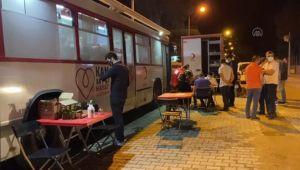 AK Parti Tire İlçe Başkanlığı kan bağışı kampanyası düzenledi