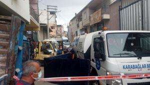 Çöp kamyonunun ezdiği yaşlı adam öldü