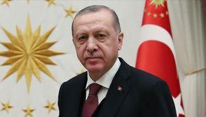 Cumhurbaşkanı Erdoğan, Caparov ve Gani ile görüştü