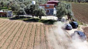İzmir polisinden dronlu uyuşturucu operasyonu: 2 gözaltı