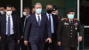 Milli Savunma Bakanı Akar ve Dışişleri Bakanı Çavuşoğlu Libya'ya gitti