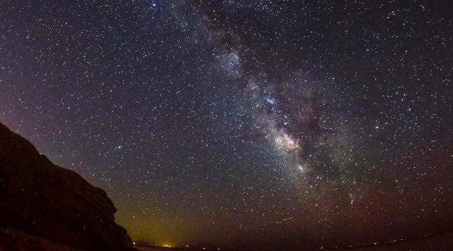 Samanyolu Galaksisi Türkiye'den böyle görüntülendi