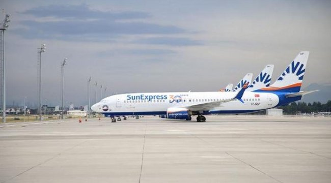 SunExpress, tam kapanma sürecinde Anadolu'ya uçuş düzenleyecek