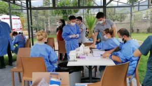 KOSBİ'den Çalışanlara Fabrikada Aşı Hizmeti