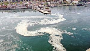 Marmara'da 4 bin 202 metreküp müsilaj temizlendi