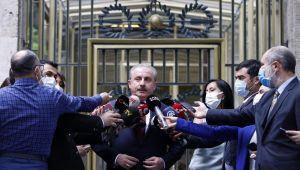Şentop, İçişleri Bakanı Soylu ile görüşmesine ilişkin açıklama yaptı