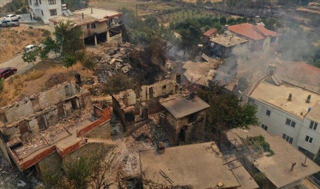 Bakan Kurum'dan yangın bölgelerinde 'hasar tespit' açıklaması