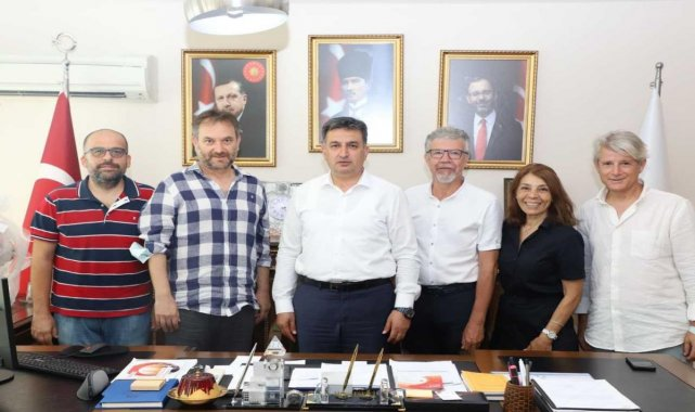TSYD İzmir Şubesinden, Gençlik ve Spor İl Müdürü Eskici'ye ziyaret